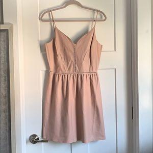 Faux leather Zara dress